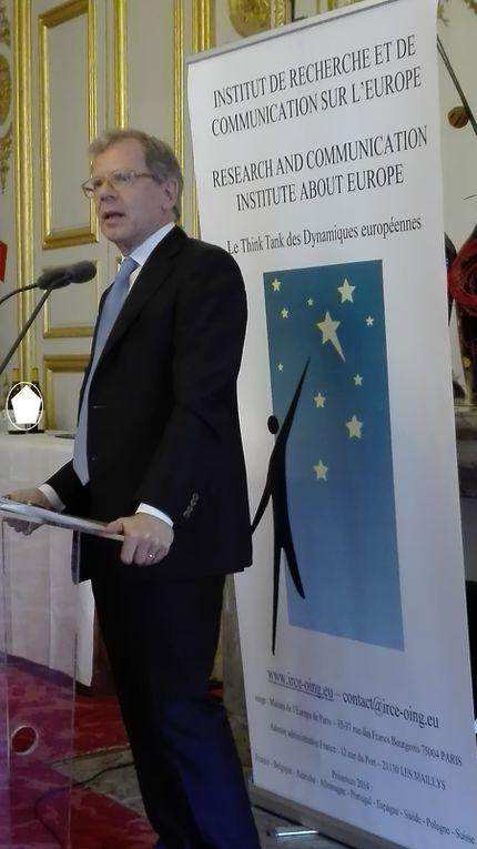 23 MAI 2017 - Son Excellence M. Bernardino REGAZZONI Ambassadeur de Suisse en France Sur le thème « L'Union européenne vue de la Suisse»