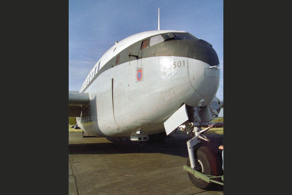 Le Breguet 765 Sahara 501 64-PE de la base aérienne 105 d'Evreux.