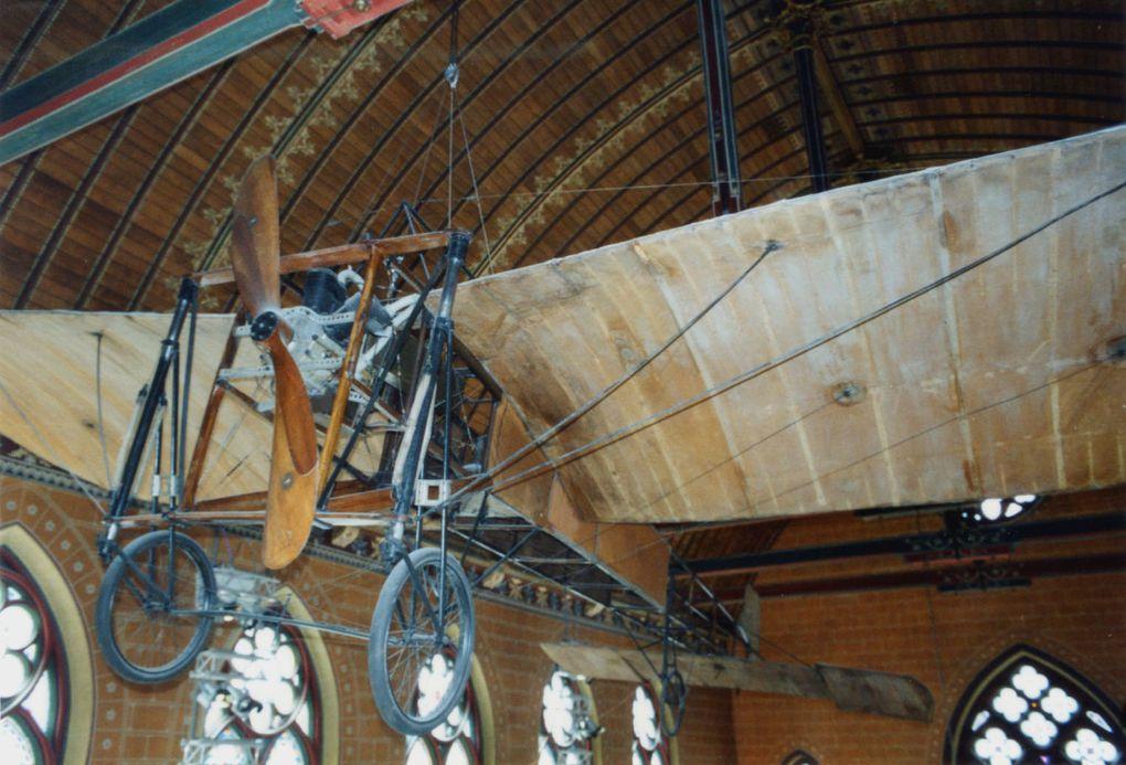 Le Blériot original de 1909 qui traversa la Manche le 25 juillet, pour la première fois.