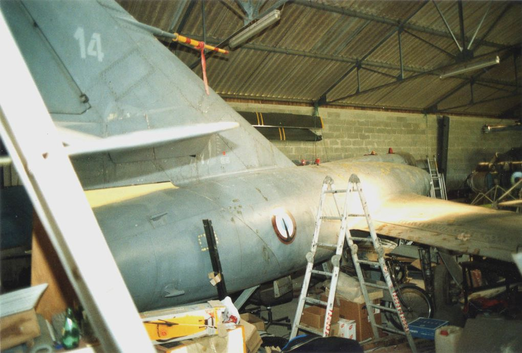 En très bel état, le Dassault Etendard IVM N°14.