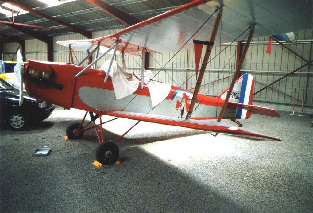 Le Leopoldoff L-4 N°24 F-PHQG basé à Saint Junien.