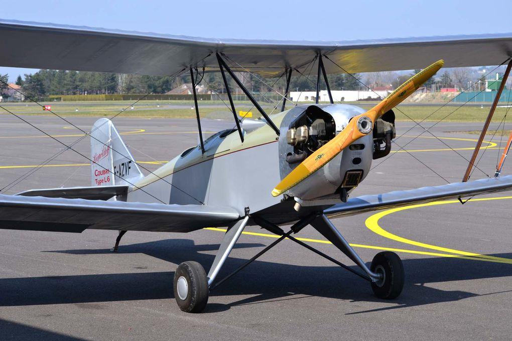 Le Léooldoff L-7 N°129 F-AZVF basé à Belvès. ex G-BYKS