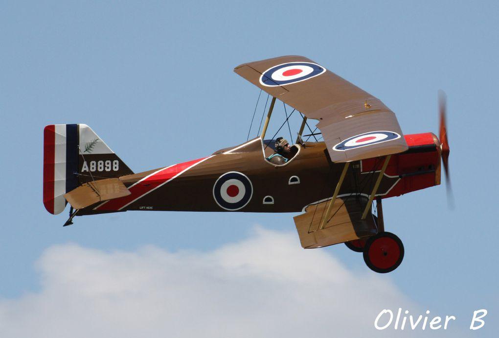 Le RAF Se-5 F-AZCY, réplique sur base de Stampe SV-4 (merci à Olivier B)