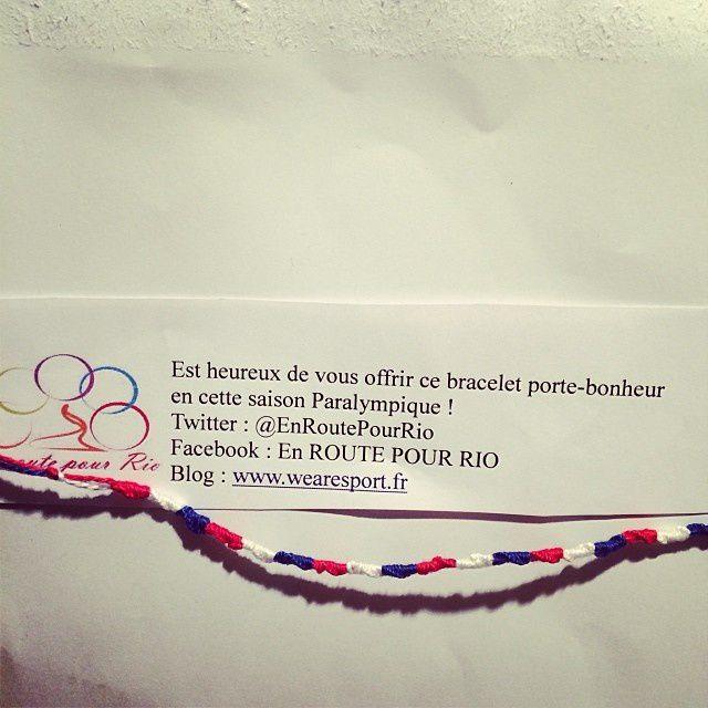 Les bracelets En Route Pour Rio