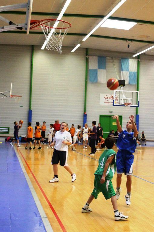 Photos du tournoi Journée du Grand Quercy Basket 2012