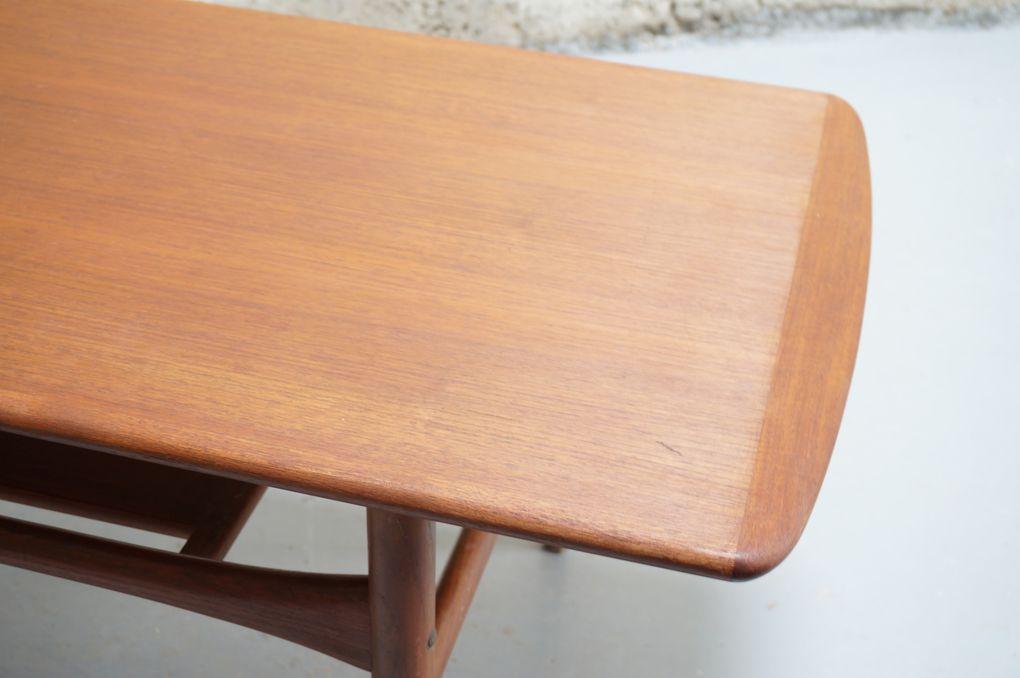 table basse scandinave arrebo mobler danois vintage danish teck années année 50 60 mad men decoration interieur mobilier design designer teck. Møbler