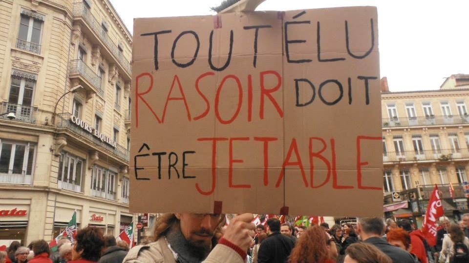 Toulouse : le Front de gauche dans la rue contre l'austérité