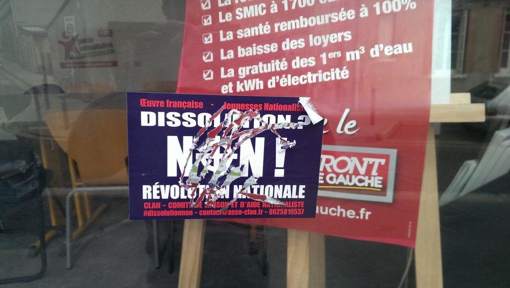 Extrême droite : Le local PG / GA - CA de Toulouse a été l'objet de dégrations
