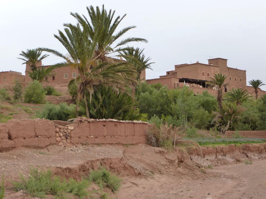 Aït Ben Haddou - village classé au patrimoine mondial de l'Unesco.