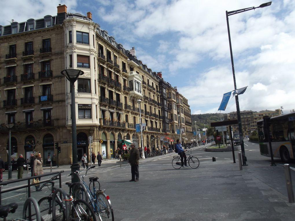 Viste de San Sebastian au Pays Basque Espagnol ...