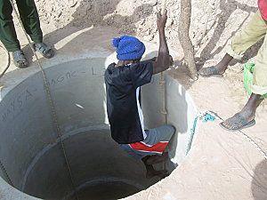 Les différentes étapes dans le forage d'un puits