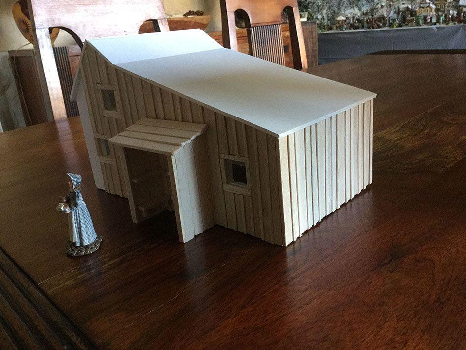 La petite maison dans la prairie (maquette)