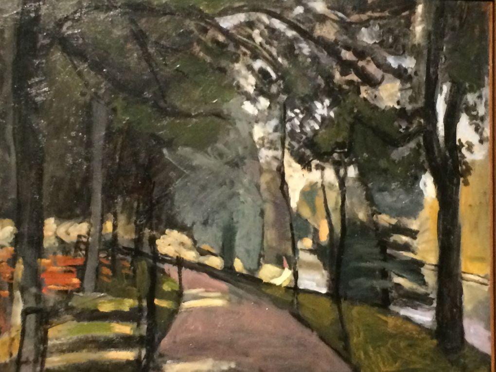 Matisse : le jardin du Luxembourg, ... le bois de Boulogne