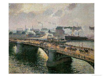 Pissarro : Paris, Rouen, Louveciennes...