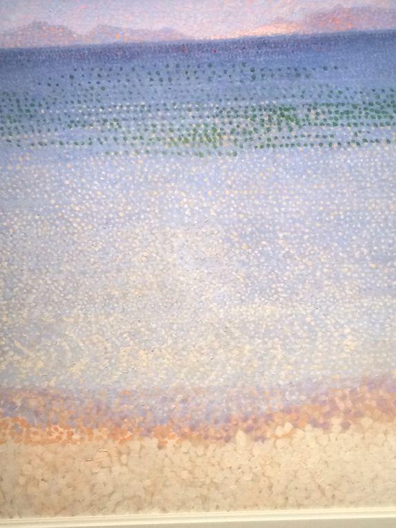Salle 1 : Van Gogh, Monet, Piet Mondrain, Jan Verkade, Henri Edmond Cross, Klimt