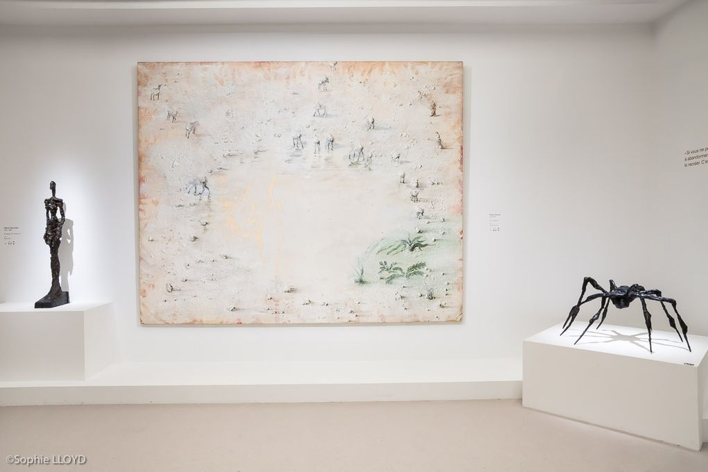 Salles 6, 7 et 8 : Rothko, Barcelo