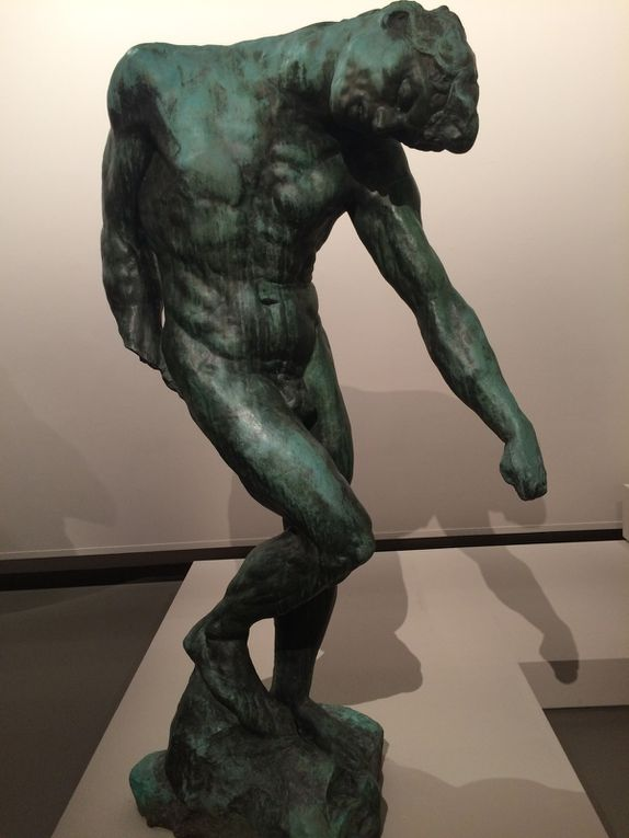 Rodin : Le penseur, Victor Hugo, Femme accroupie, Le baiser, La cathédrale, Balzac, Naïade, La  chute d'un ange, Torse de l'âge d'airain