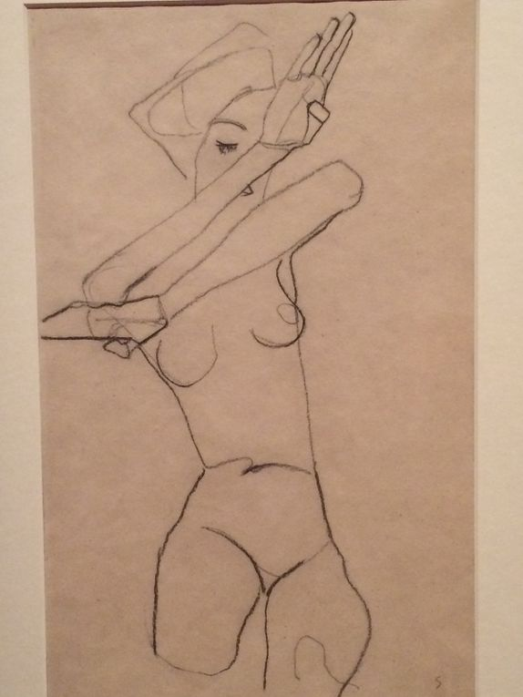 Picasso, Egon Schiele, Brancusi, Georg Kolbe, Picasso le verre d'absinthe, Rodin sculpté par Camille Claudel