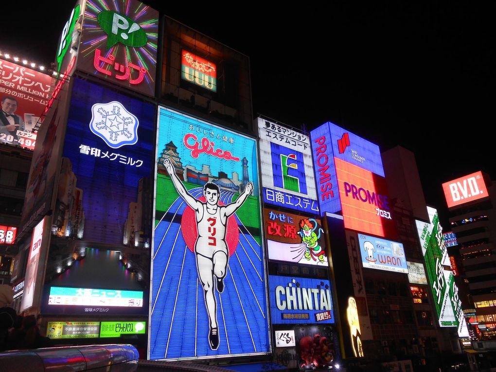 Osaka, sumotoris et Denden Town