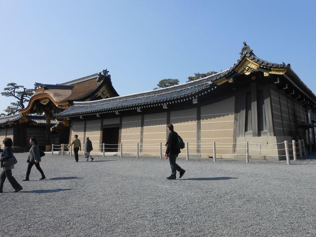 Temple d'or et Palais impérial à Kyoto