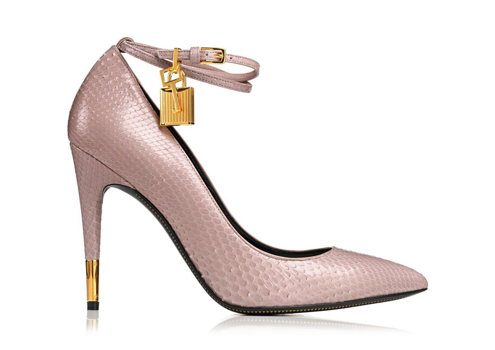 Pump Whith Ankle Strap And Lock ( Magnifique !! )