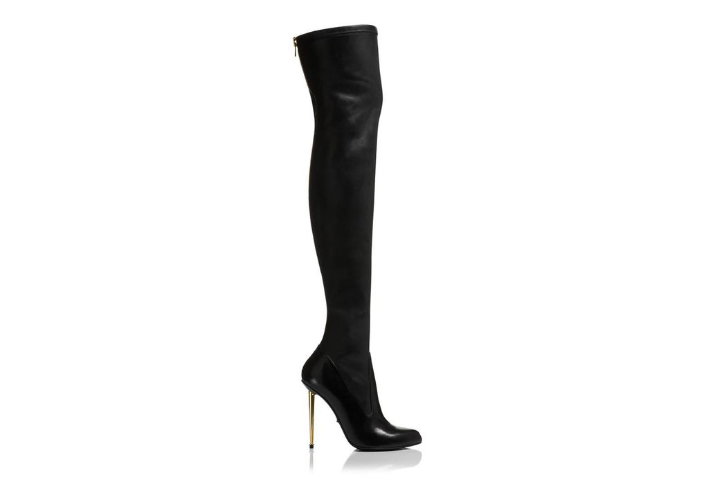 Nappa Stretch Metal Stiletto