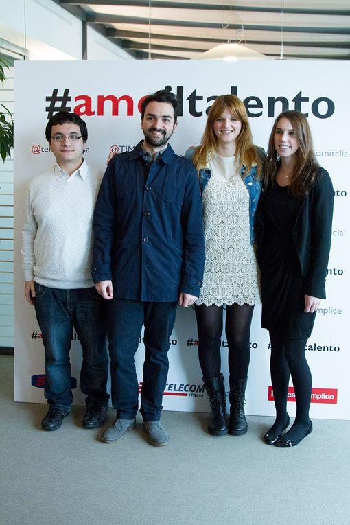 #amoiltalento - Il nuovo spot Telecom Italia con Chiara Galiazzo