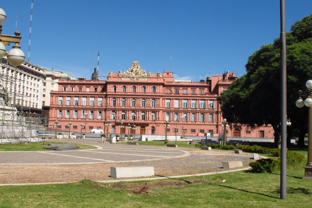 plce de May, casa Rosada ( presidenciel), Montevideo (derniere photo)