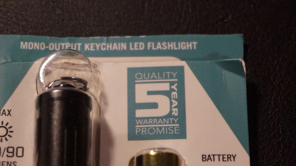 Olight lampe torche 3EOS de très bonne qualité !