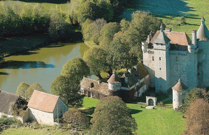 Chatelus le Marchais, Crocq, Gentioux(tourbières), La Nouaille(Domaine de la Banizette), Villemonteix, Lavaud-Gelade