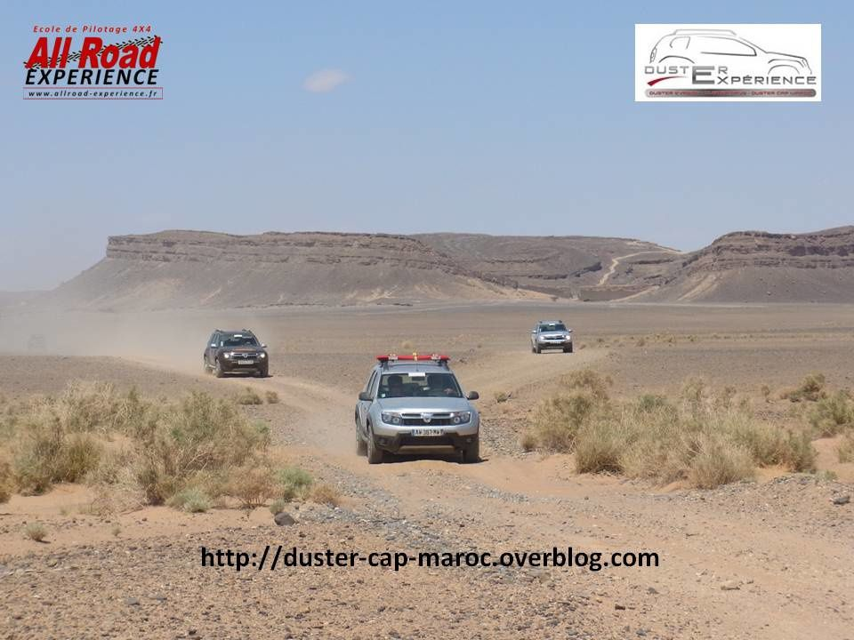 Le DUSTER 4X4 Solidaire
