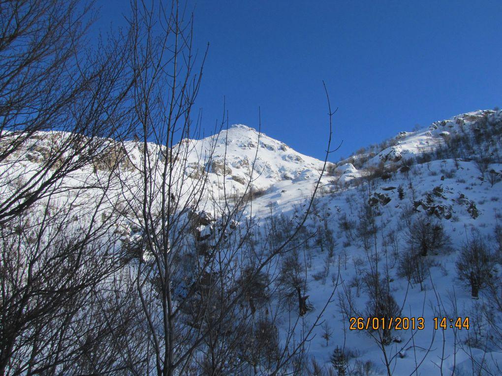 2ème Raid Neige: Lac  de Creno / Lac de Nino