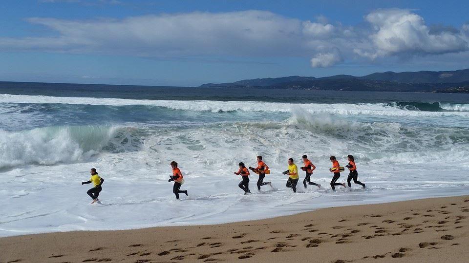 Journée mer....mouvementée, tous dans le bain !!!