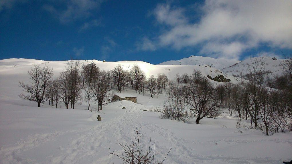 1er raid neige - Val d'ese