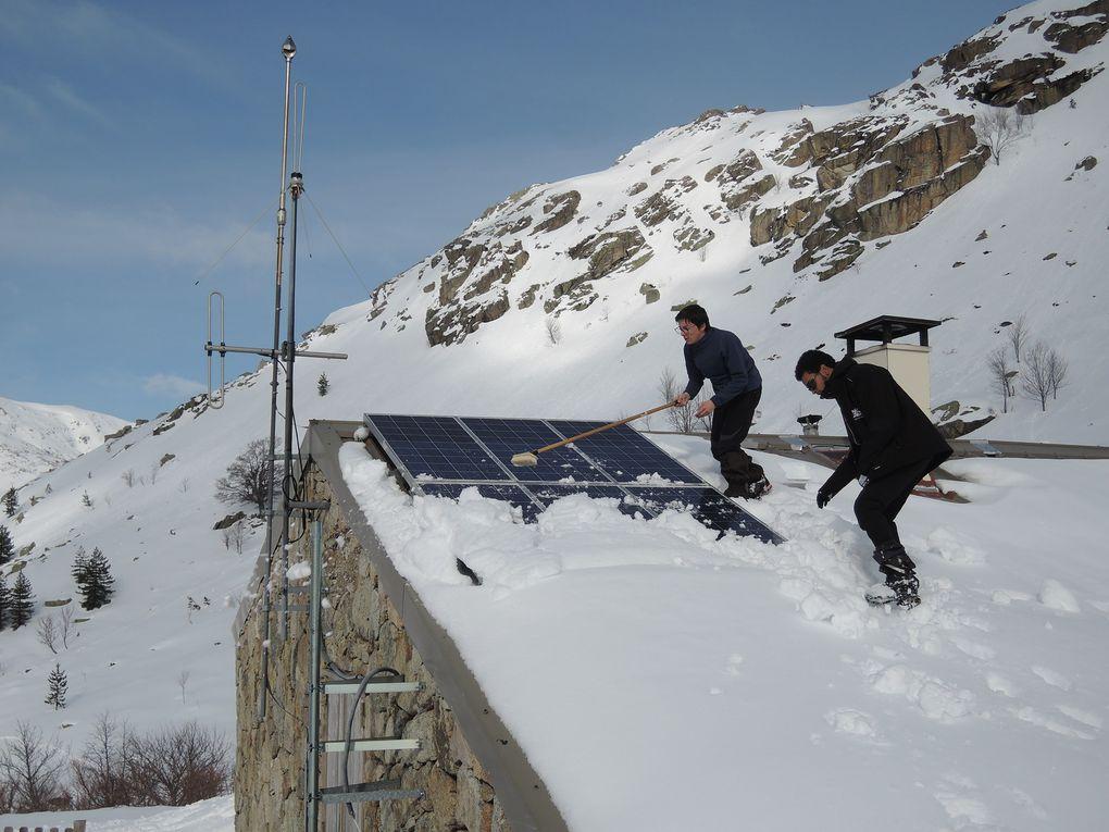 2ème raid neige au lac de Nino