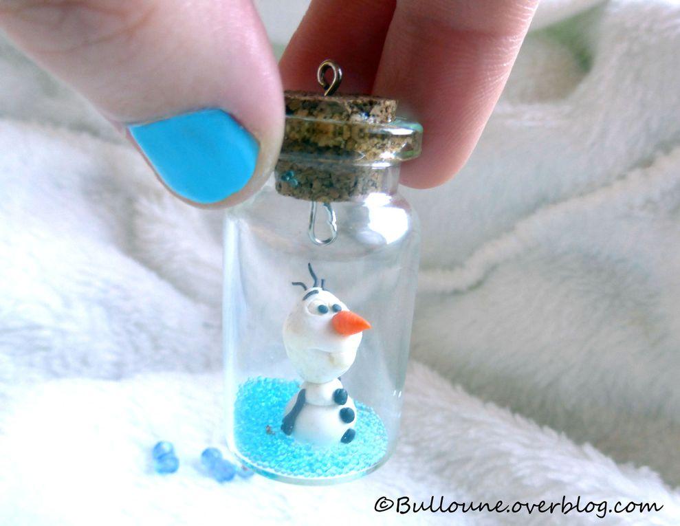 Olaf - La Reine des Neiges - Fimo