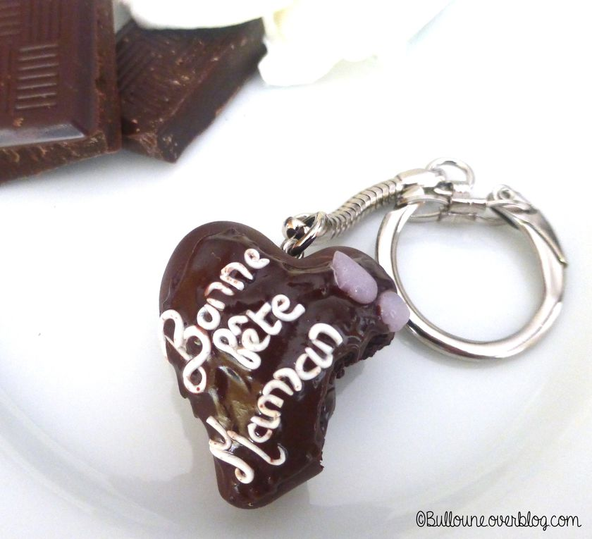 Fondant au chocolat - Fête des mères - Fimo