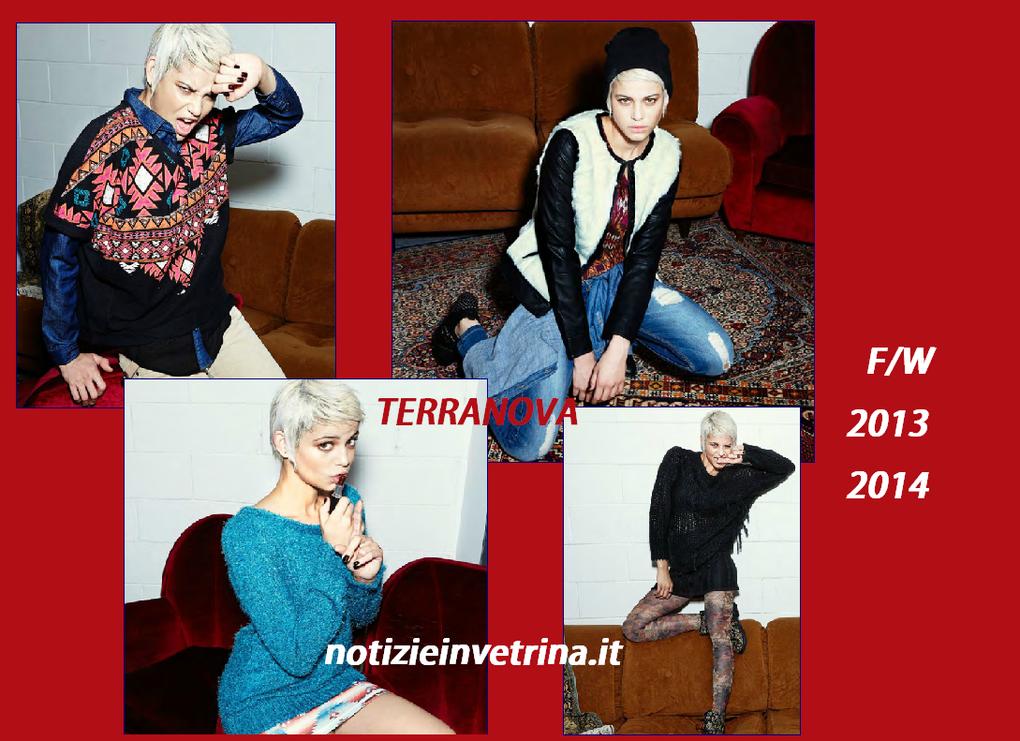 Terranova collezione F/W 2013 2014: abiti, leggings, maxy pull, jeans e calzature
