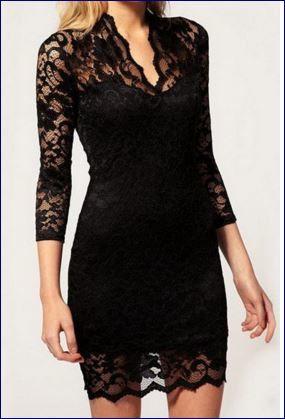 Tre scelte mini dress black and white, bianco e nero con passione -  Tendenze 2015 2016