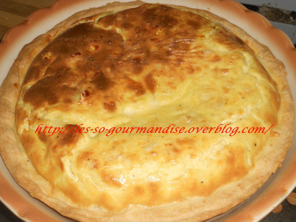 Quiche au fromage ( 3 fromages)