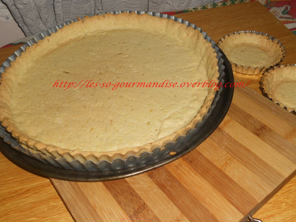Fonds de tarte  facile