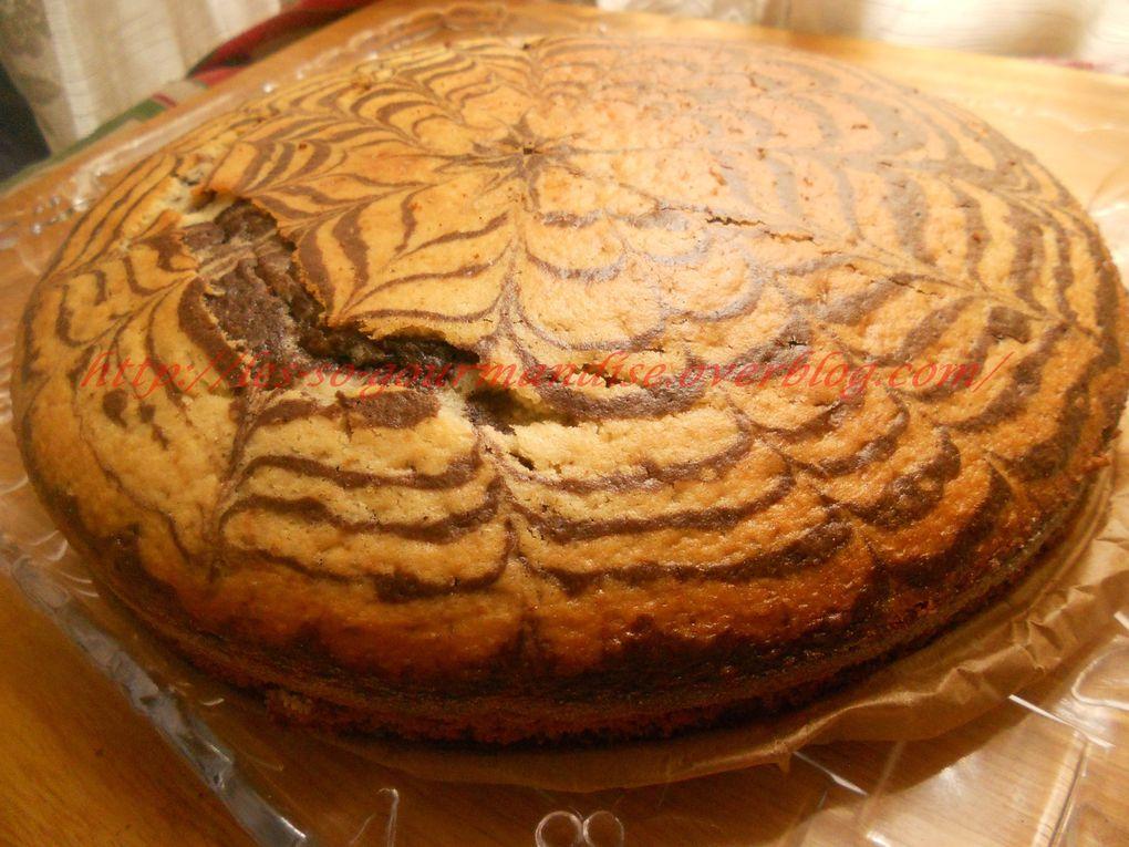 Cake Zebré