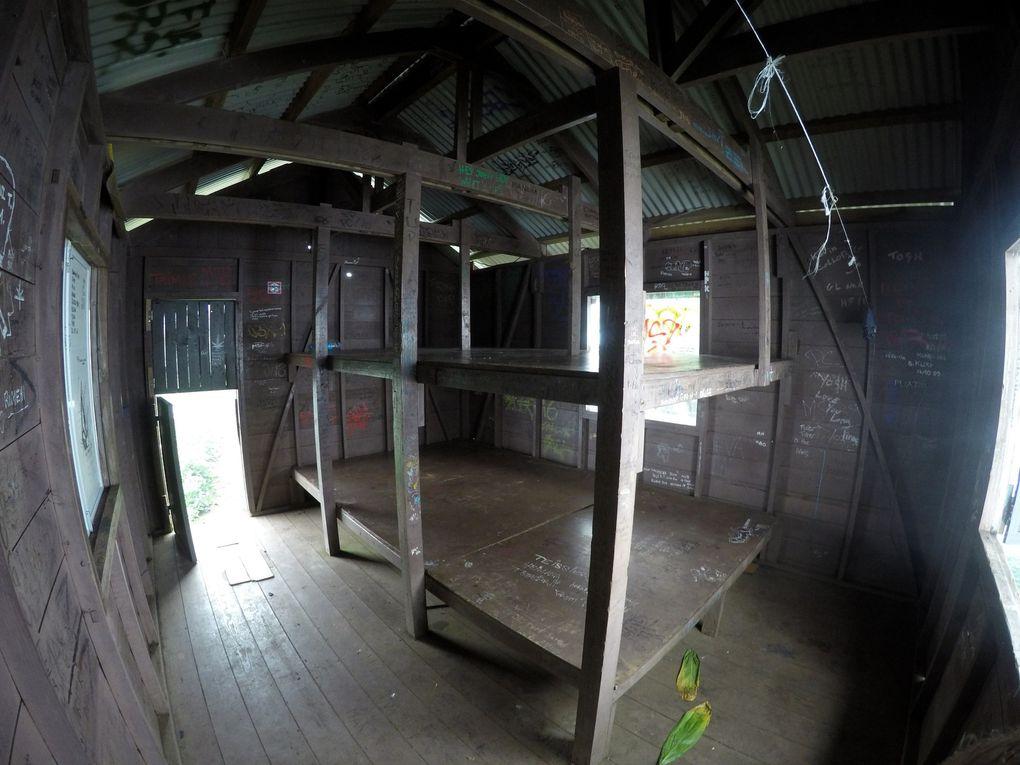 L'intérieur très cosy du 1er refuge