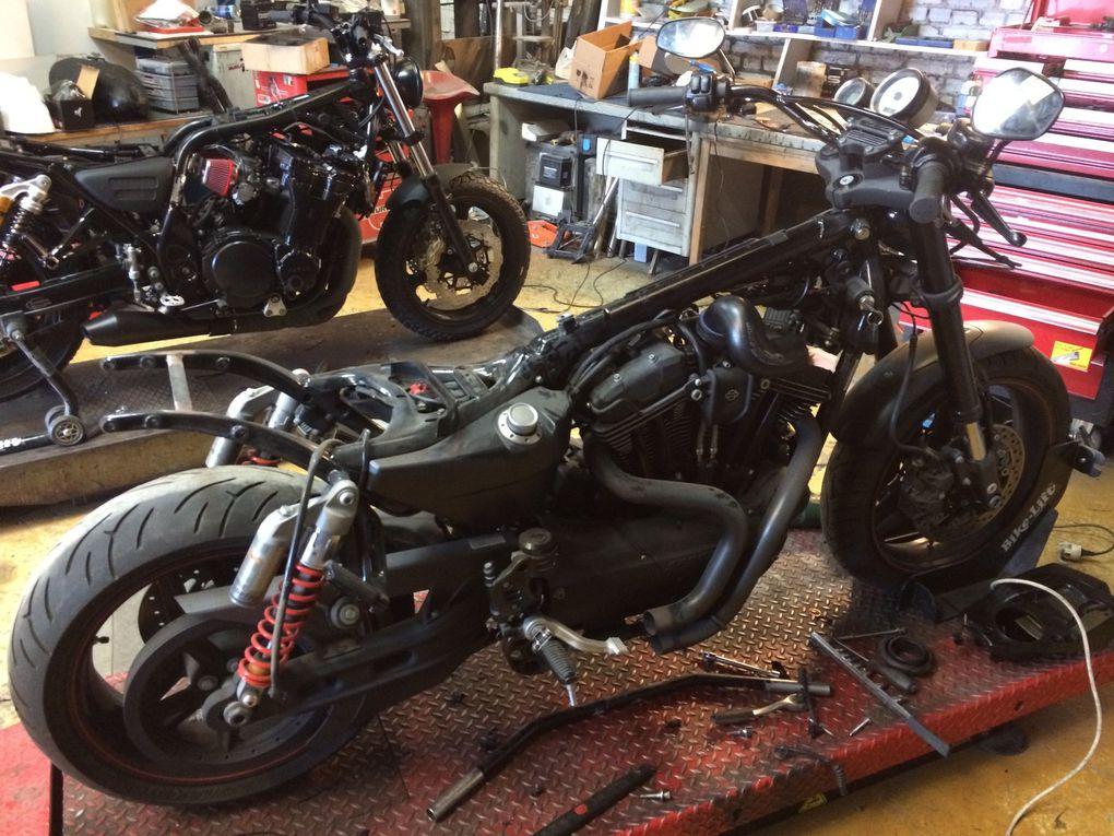 Harley XR 1200 Scrambler