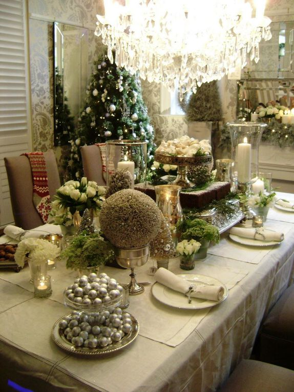 DECORATION TABLE DE NOEL ORIGINAL