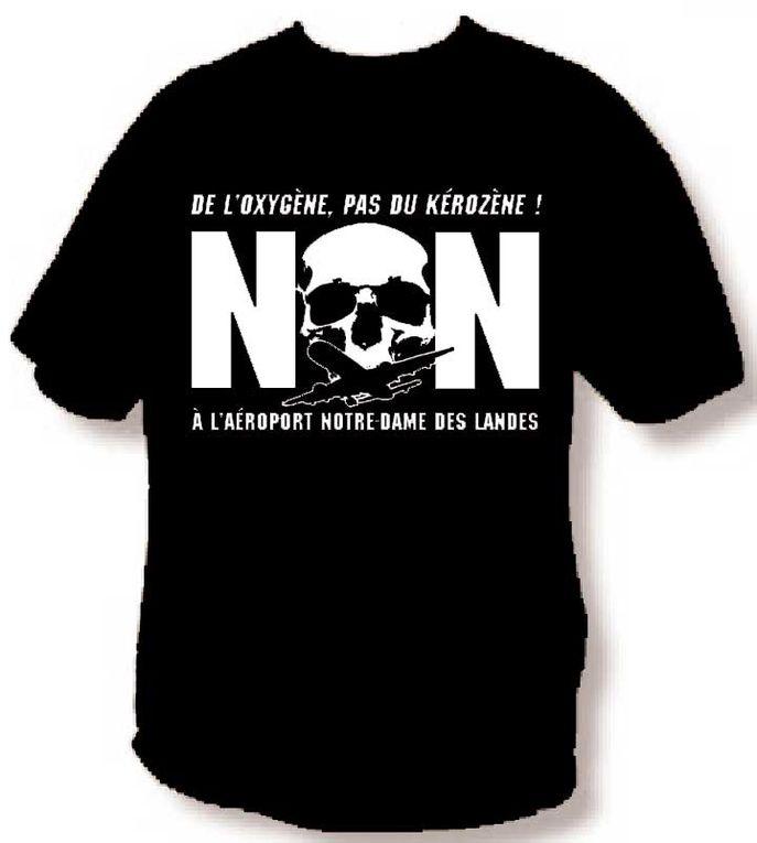 Supports Militants N0 PASARAN : Tee shirt, sweets, livres , affiches.......en Soutien aux RésistantEs de la ZAD et à l' ACIPA
