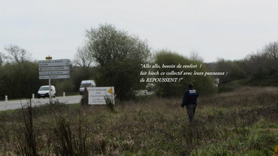 Morbihan : Panneaux replantés et re-enlevés ! (Mediapart, le 11.04.13)
