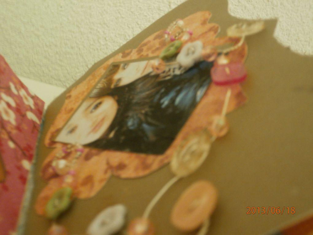 boite a bijoux et album photo scrap