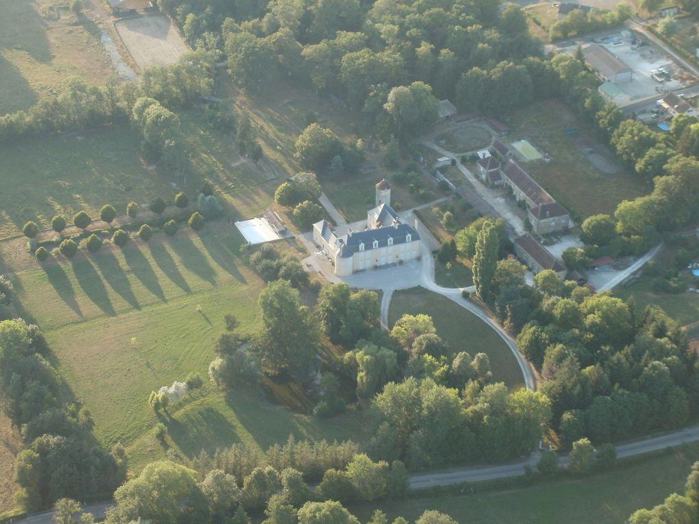 Moulin sur Ouanne, son église, son château et son lotissement