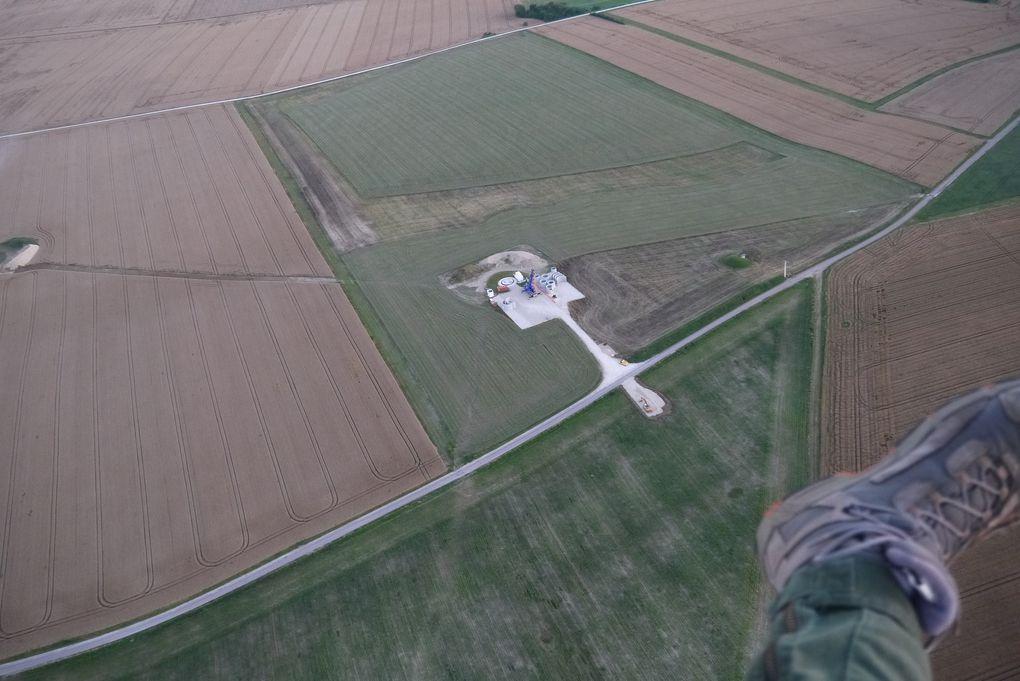 Encore des éoliennes en construction : photos de Chritophe